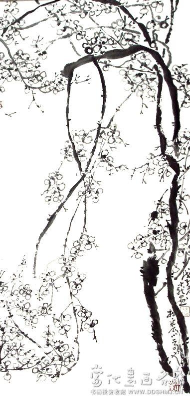 梅花树简笔画图片大全 步骤