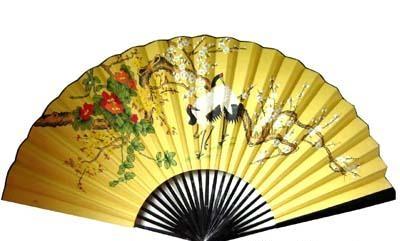 中国古代的扇子,先后用羽毛