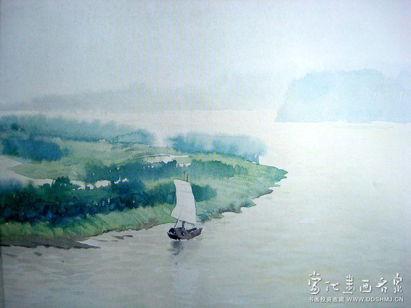 简单风景水彩画作品欣赏_简单风景水彩画作品相关图片内容